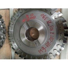 Insert milling Cutters - for internal and external
