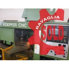 Gear hobbing machine KÖPFER 143 B CNC (stock no. DCR1207)